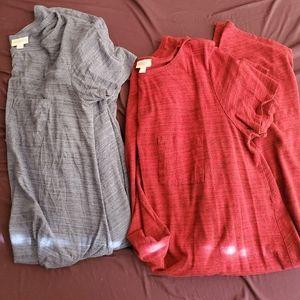2 LuLaRoe Carly dresses
